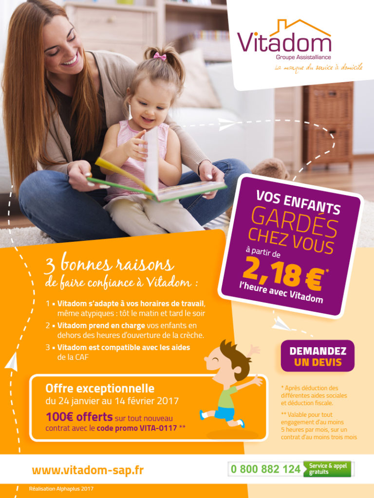 Emailing Vitadom – Groupe Assistalliance
